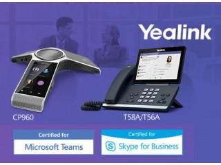 Настольные и конференц-телефоны Yealink сертифицированы для Microsoft Teams