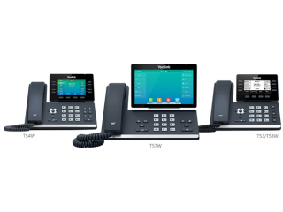 Телефоны Yealink серии T5: T53, T53W, T54W &T57w завершили испытание совместимости с 3CX