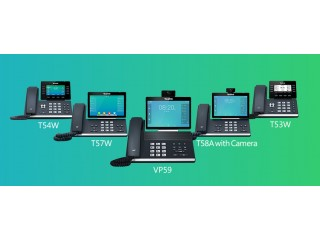 Новые бизнес-телефоны Yealink серии T5