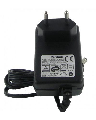 Адаптер питания для IP-телефонов Yealink T20/T20P/T22/T22P/T26P/T28P/T41P/T42G