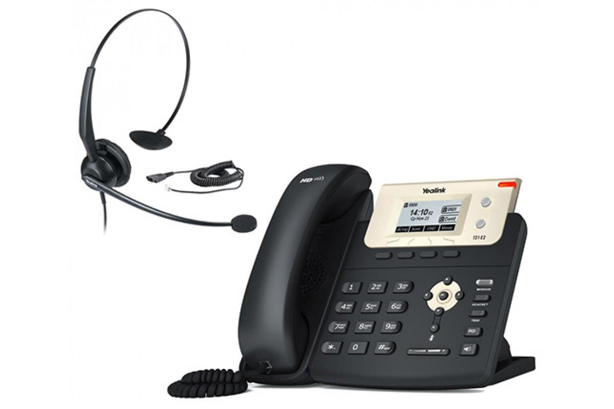 34f93ac9c1d Yealink SIP-T21 E2 + YHS32 — IP-телефон SIP с гарнитурой. Комплект ...