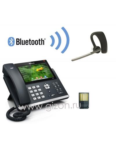 Yealink SIP-T48G + BT40 + Plantronics Voyager Legend  — IP-телефон c беспроводной гарнитурой Bluetooth