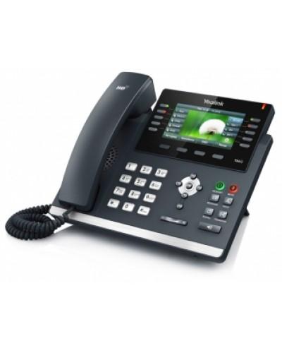 Yealink SIP-T46G — IP-телефон SIP, проводной VoIP-телефон