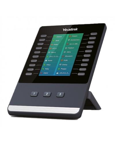 Yealink EXP50 — Модуль расширения с LCD для IP-телефонов Yealink SIP-T58A и T58G