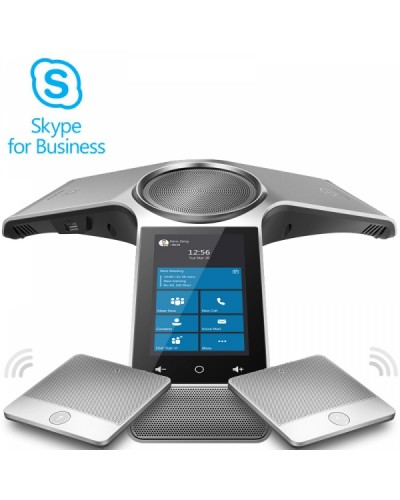 Yealink CP960 + 2×CPW90 Skype for Business - Комплект из SIP конференц телефона Yealink CP960 и 2 микрофонов Yealink CPW90