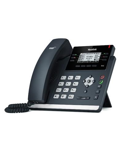 Yealink SIP-T41S Wi-Fi - IP-телефон с поддержкой Wi-Fi, 6 VoIP аккаунтов, HD voice, PoE