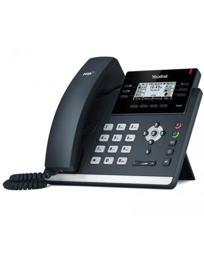 Yealink SIP-T42S Wi-Fi - IP-телефон с поддержкой Wi-Fi, 12 VoIP аккаунтов, HD voice, PoE