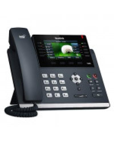 Yealink SIP-T46S Wi-Fi - IP-телефон с поддержкой Wi-Fi, 6 VoIP аккаунтов, HD voice, PoE