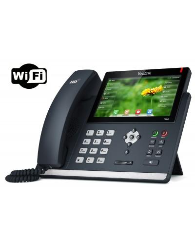 Yealink SIP-T48G Wi-Fi - IP-телефон премиального класса с поддержкой подключения по беспроводной сети Wi-Fi