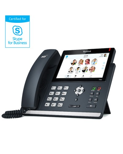 Yealink SIP-T48S Skype for Business — IP-телефон