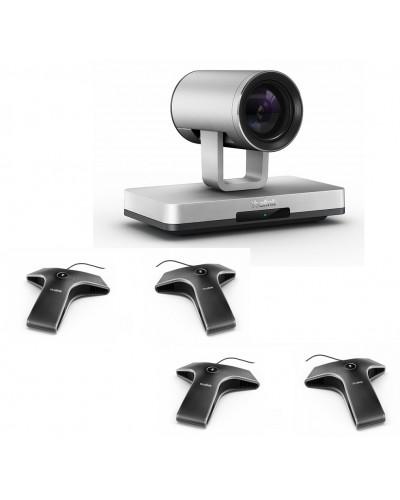 Yealink UVC80-Mic-4-Wired - Комплект из USB PTZ-камеры и четырех микрофонов VCM34