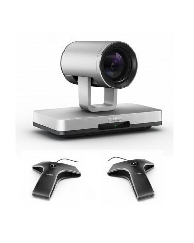 Yealink UVC80-Mic-2-Wired - Комплект из USB PTZ-камеры и двух микрофонов VCM34