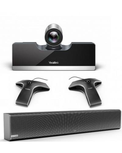 Yealink UVC50-Mic-2-Wired - Комплект из USB PTZ-камеры, Саундбара Mspeaker II и двух микрофонов VCM34