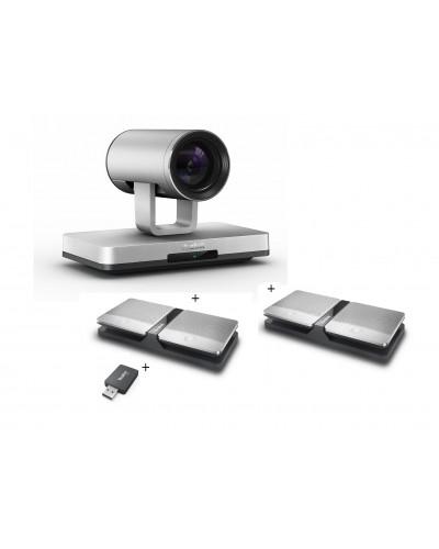Yealink UVC80-Mic-4-Wireless - Комплект из USB PTZ-камеры, USB-адаптера и четырех беспроводных микрофонов CPW90
