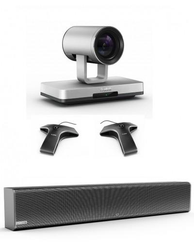 Yealink UVC80-Mic-2-Wired - Комплект из USB PTZ-камеры, Саундбара Yealink Mspeaker II и двух микрофонов VCM34