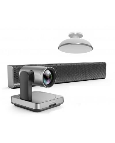 Yealink UVC84-mic-1-Ceiling - Комплект из USB PTZ-камеры, Саундбара Mspeaker II и одного микрофонного массива VCM38
