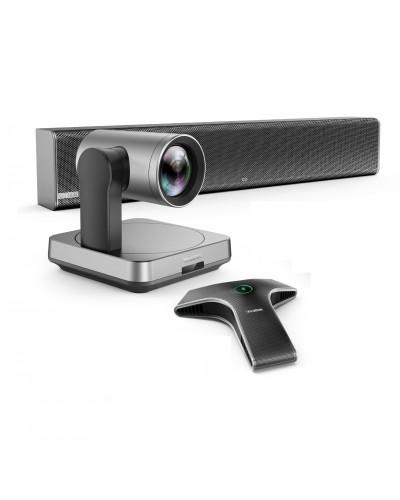 Yealink UVC84-mic-1-Wired - Комплект из USB PTZ-камеры, Саундбара Yealink Mspeaker II и микрофона VCM34