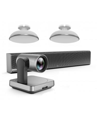 Yealink UVC84-mic-2-Ceiling - Комплект из USB PTZ-камеры, Саундбара Mspeaker II и двух микрофонных массивов VCM38