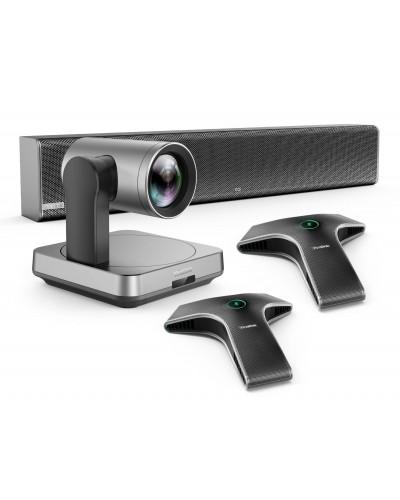 Yealink UVC84-mic-2-Wired - Комплект из USB PTZ-камеры, Саундбара Mspeaker II и двух микрофонов VCM34