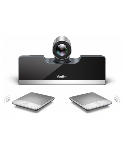 Yealink VC500-Mic-VCH - Моноблок с камерой 5Х, беспроводные микрофоны CPW90 - 2шт., коммутационный хаб VCH50