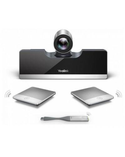 Yealink VC500-Mic-WP - Моноблок с камерой 5Х, беспроводные микрофоны CPW90 - 2шт.,передатчик WPP20 и приемник беспроводного контента WF50