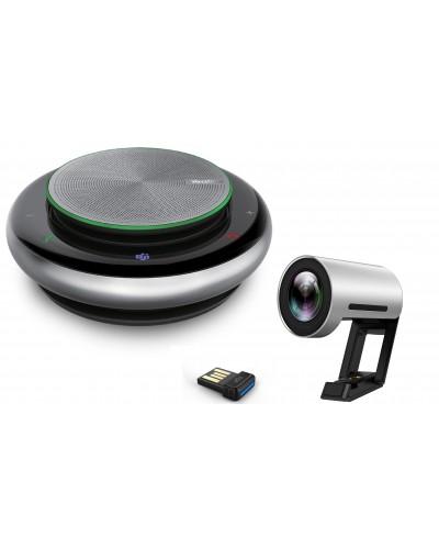 Yealink ВКС personal bundle №4 - Комплект для видеоконференцсвязи, камера + спикерфон с Bluetooth адаптером BT50