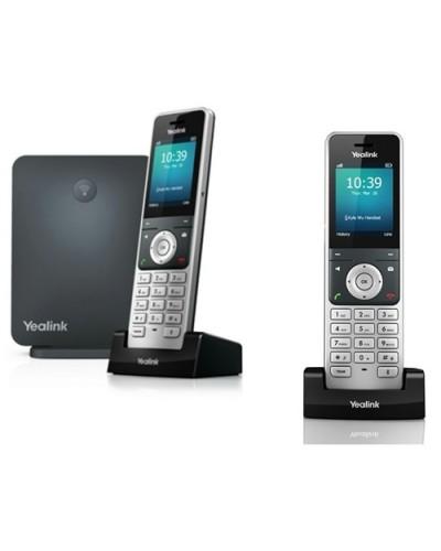 Yealink W60P-W56H — база x 1, трубка x 2 — Комплект беспроводной DECT SIP-телефон с радиотрубками