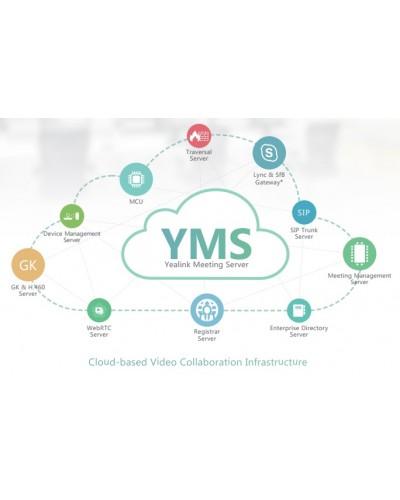 YMS Yealink Meeting Server - Распределенная инфраструктура видеоконференций, основана на облачных технологиях